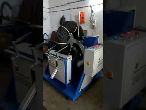 Coil wrapping machine vertical for drip