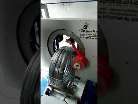 Gi wire coil wrapping machine