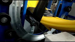 Vertical coil wrapping machine, plb duct, pipe